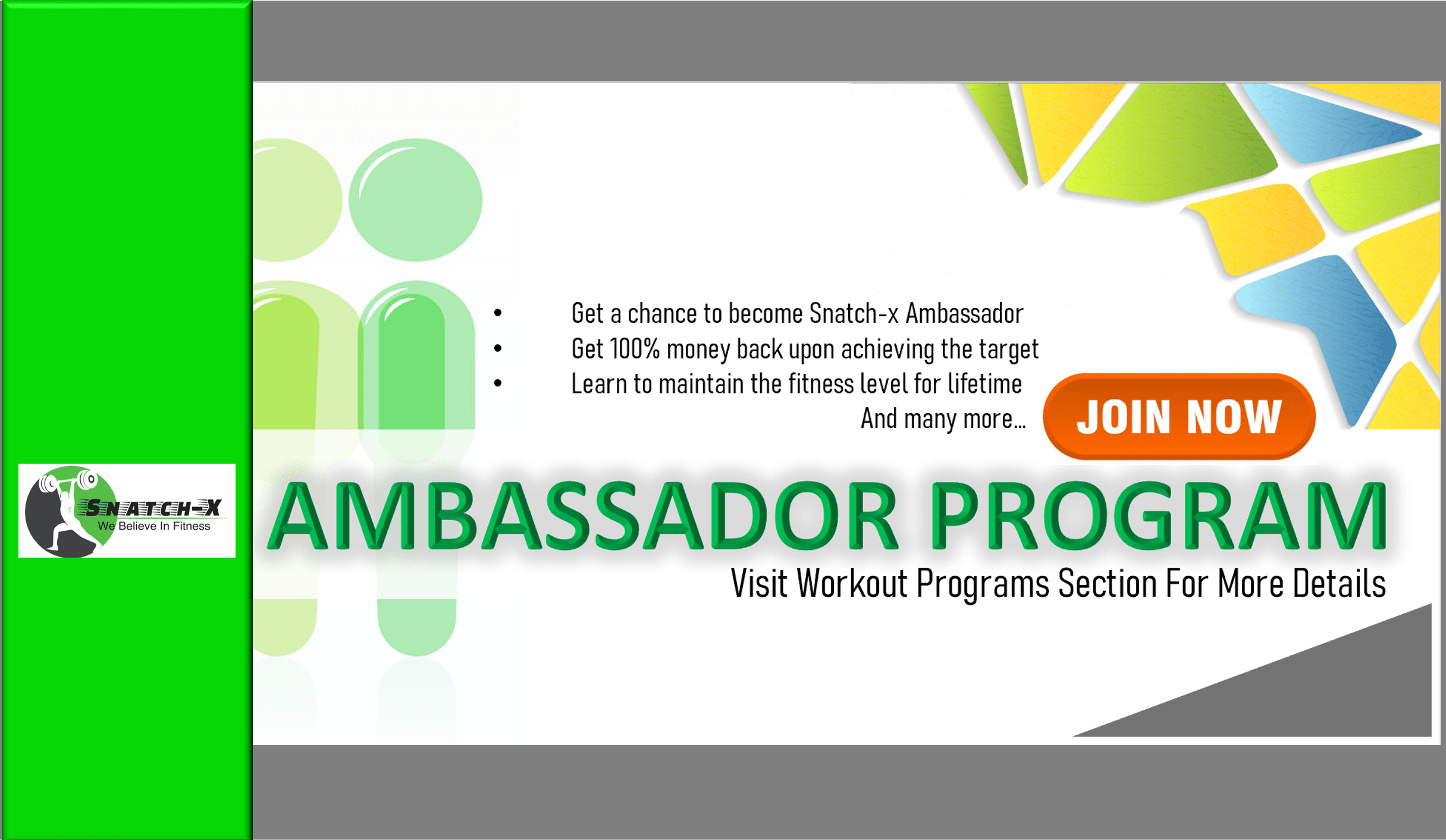 AMBASSADOR PROGRAM